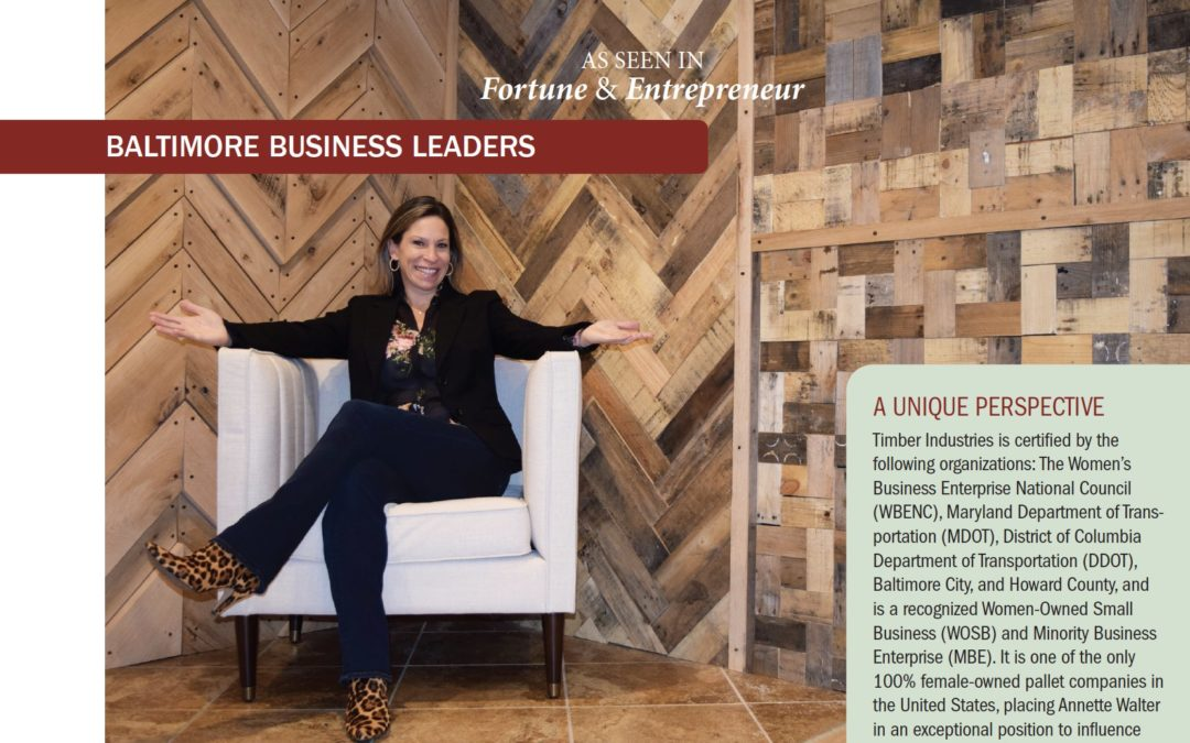 "Fortune & Entrepreneur—""Annette Walter Inspires and Empowers"""
