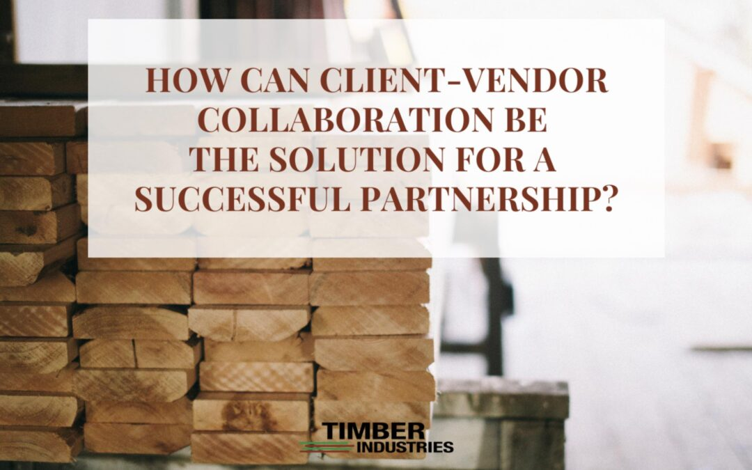 How can Client-Vendor collaboration be the solution for staying on top of your customer's mind